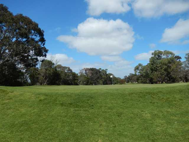 View of a green at Spring Park Golf Course