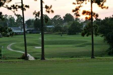 A view of a green at Scenic Hills Country Club.