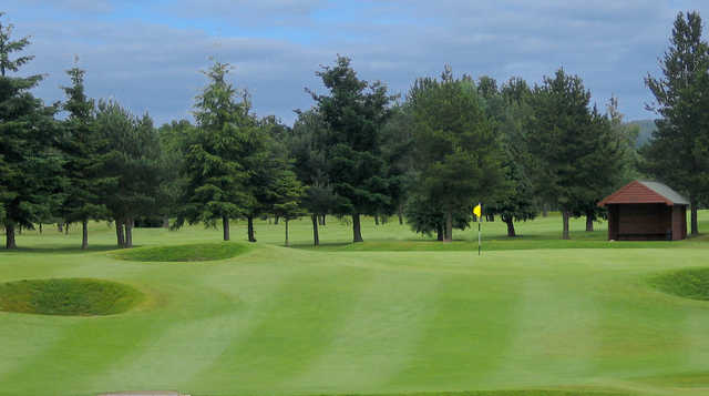 View of the 9th hole at Inverness Golf Club