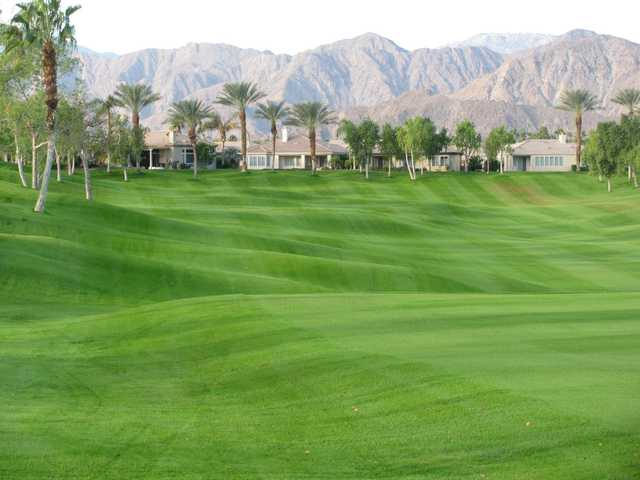 A view of a fairway at Heritage Palms Golf Club.