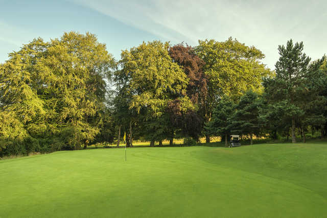 View of the 14th green from the Championship Course at Stockwood Park Golf Club
