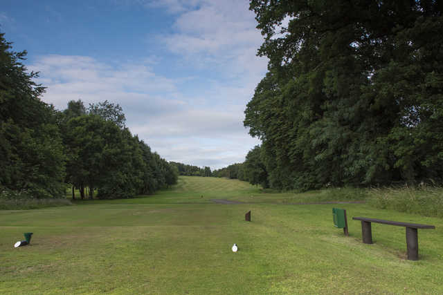 View from a tee box at Tulliallan Golf Club
