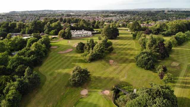 Aeria view from Beeston Fields Golf Club