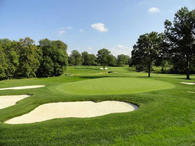 A view of hole #11 at Canterbury Golf Club.