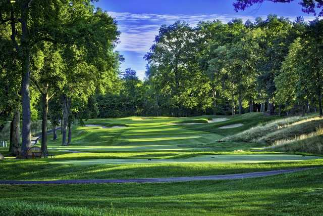 A view of tee #10 at Shaker Heights Country Club.
