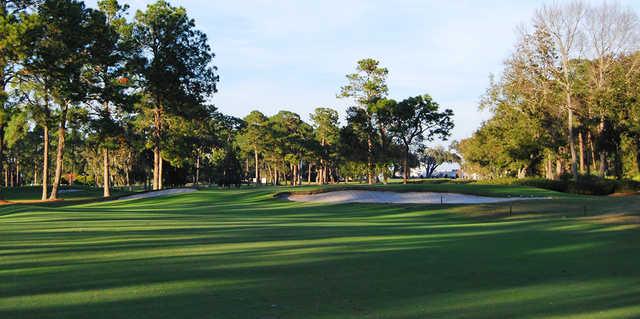 A view of a hole at Timuquana Country Club.