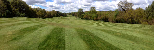 A view from Trentham Park Golf Club