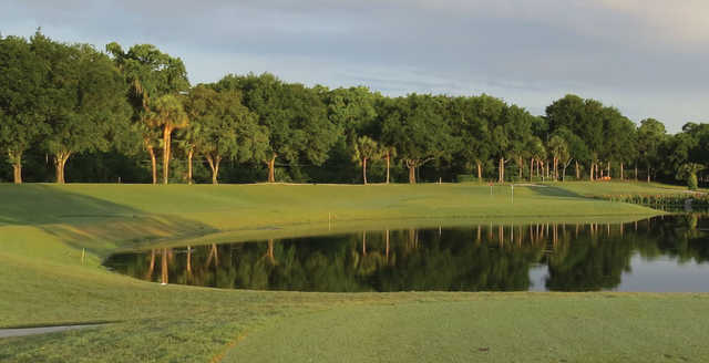 A view over the water from Bishops Gate Golf and Lakeside Community.