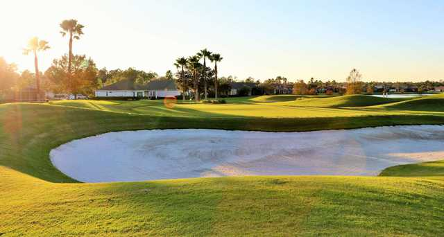 A view of hole #10 at Jones Course from LPGA International.