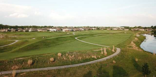 A view of a fairway at Hickory Stick Golf Club.