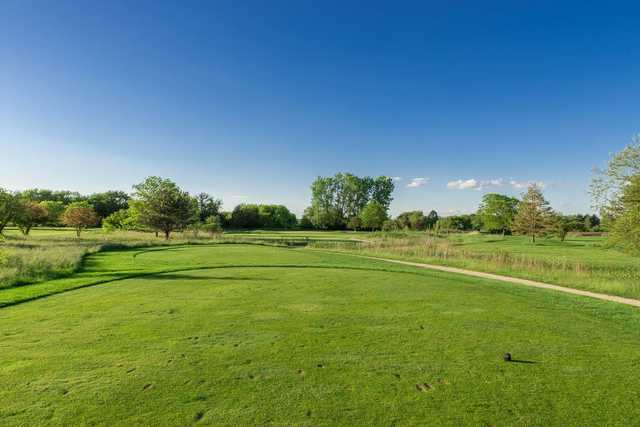 A view from tee #2 at Prairie Course from Boone Creek Golf Club (Miranda Photography).