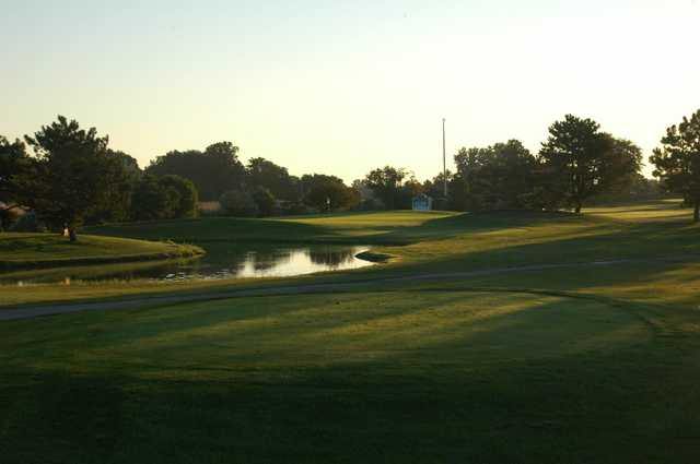 A view from a tee at Saint Clair Shores Country Club.