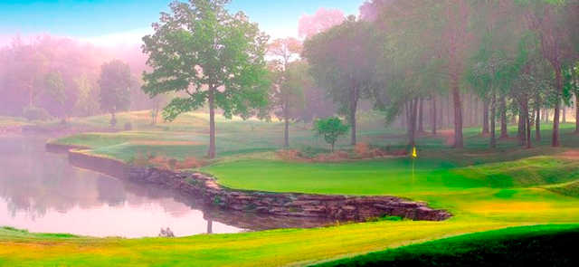 A view of hole #9 at Honors Course.