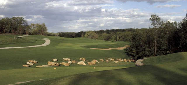 A view from tee #5 at Falcon Valley Golf Course.