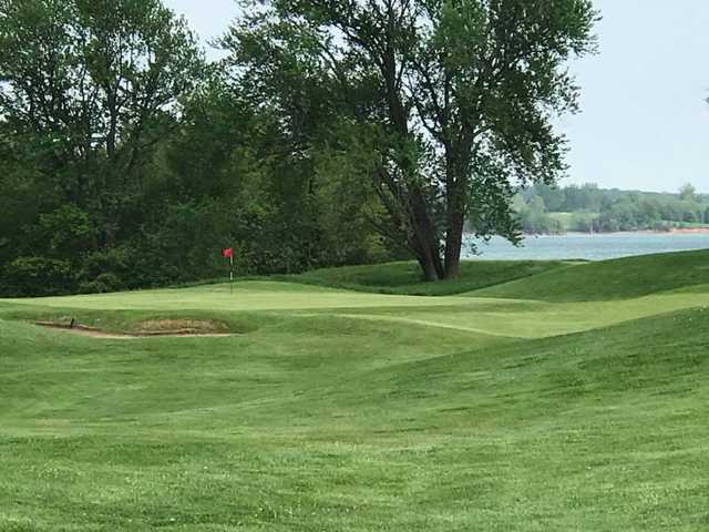 A view of hole #9 at Outlaw from Paradise Pointe Golf Complex.