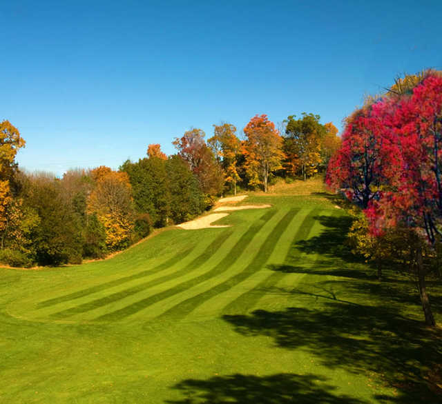 A view of a fairway at Black Bear Golf Club.
