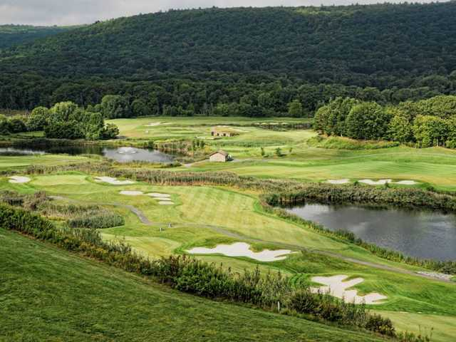 A view from Berkshire Valley Golf Course.