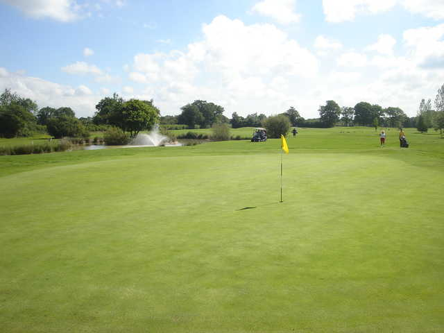 View from a green at Horne Park Golf Club