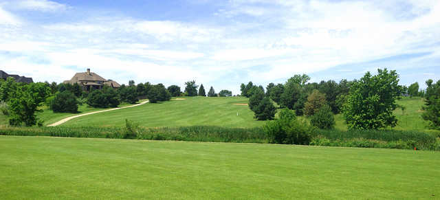 A view of a fairway at NuMark Golf Course.
