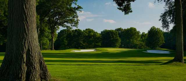 View of the 16th green at Point O'Woods Country Club.