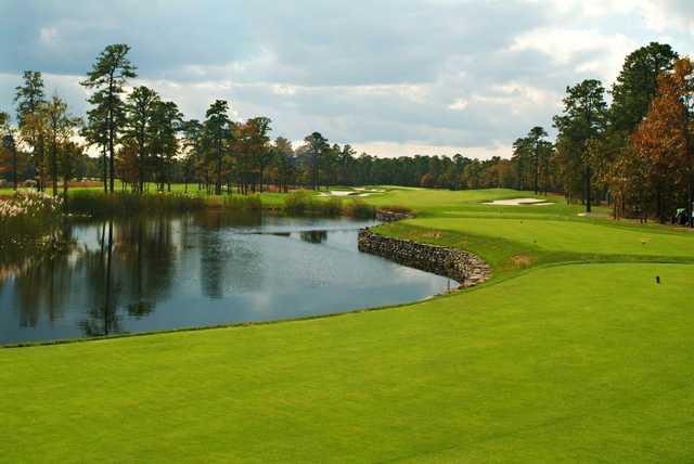 A view from tee #1 at Ballamor Golf Club.