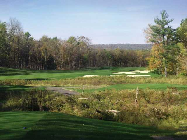A view from a tee at Blue Ridge Trail Golf Club.