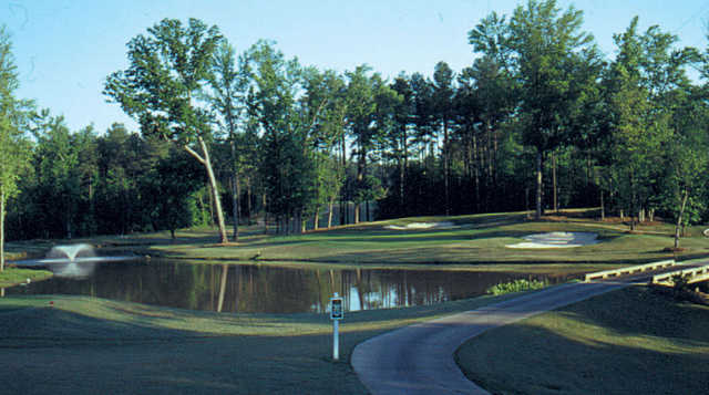 A view of the 3rd hole at Highland Creek Golf Club.