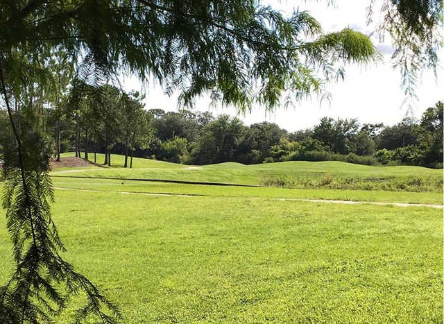 A view of the 4th tee at Casselberry Golf Club.