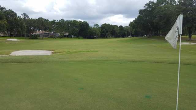 A view from a green at Harbor Hills Country Club.