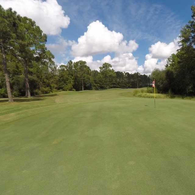 A view of hole #13 at Bent Creek Golf Course.