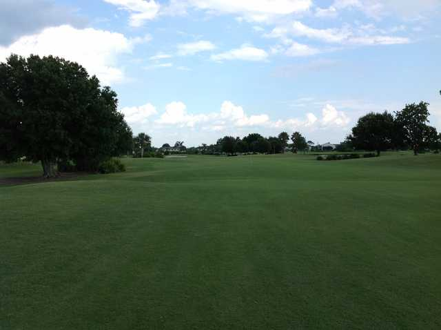 A view from a fairway at Deep Creek Golf Club.