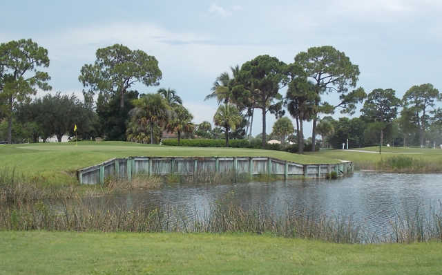 A view of the 9th hole at Heron from Burnt Store Marina & Country Club.