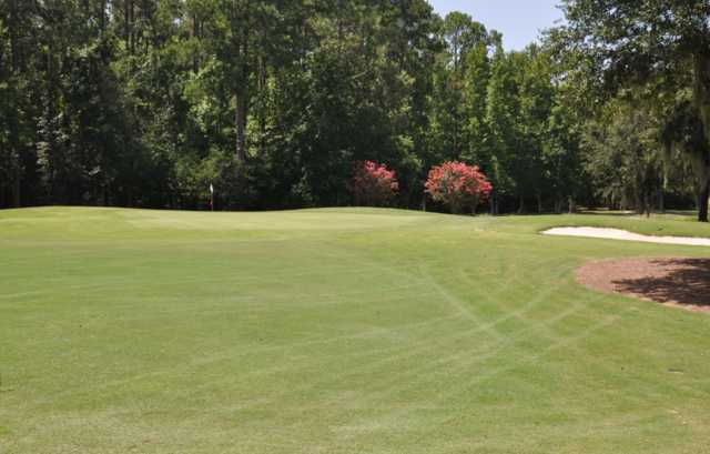 A view of the 2nd hole at Okatie Creek Golf Club.