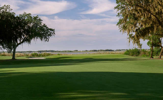 A view of a green at Country Club of Winter Haven.