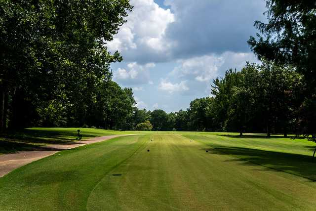 A view from a tee at Ridgeway Country Club.