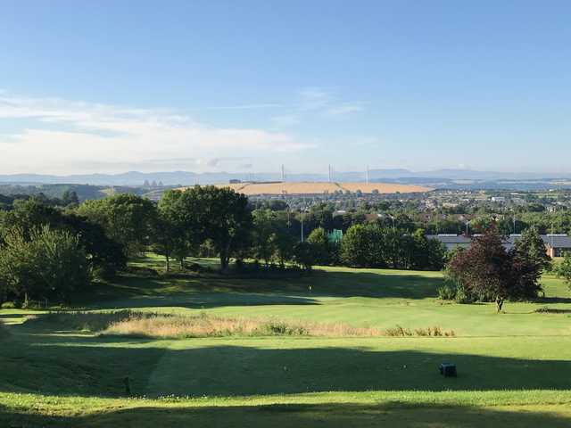 A view from Pitreavie Golf Club