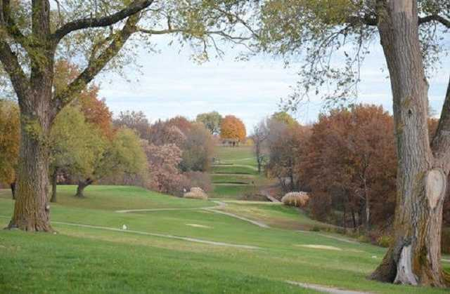 A fall day view from Indian Foothills Golf Course.