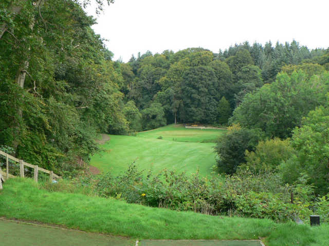 5th from the Medal teee at Glencorse Golf Club