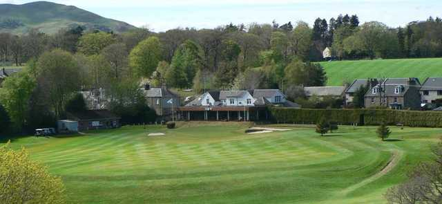 A view from Glencorse Golf Club