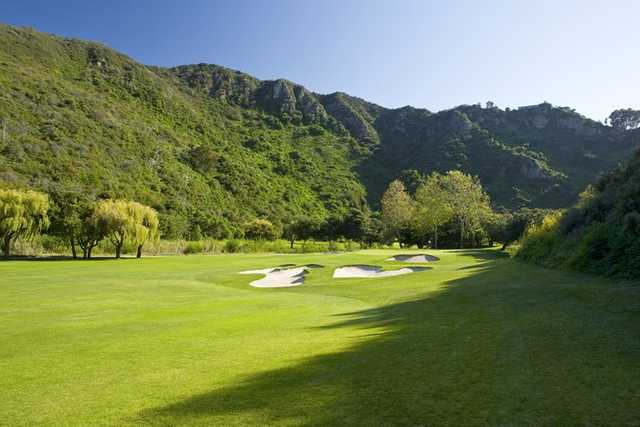 A view of hole #7 from Ben Brown's Golf Course at The Ranch Laguna Beach.