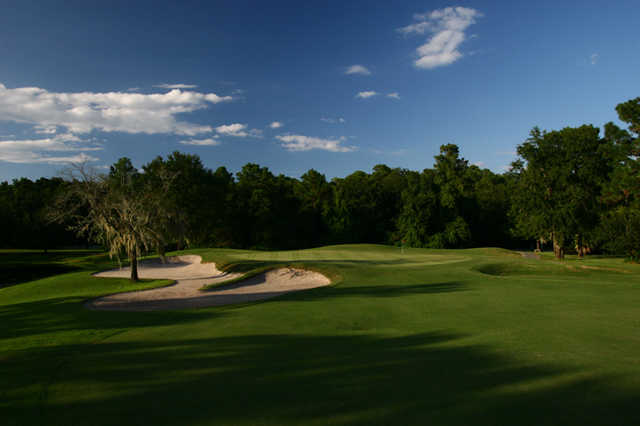 A view of the 17th green at Julington Creek Golf Club