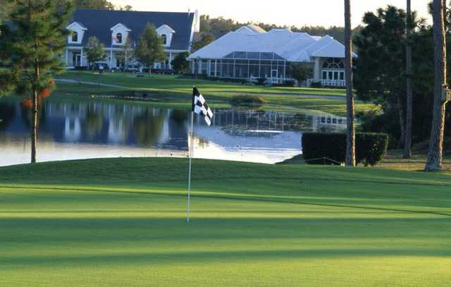 A view of the clubhouse at Deercreek Country Club