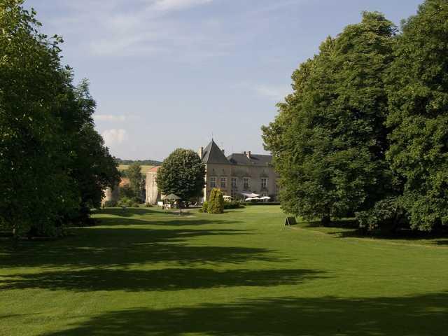 A view from Metz Cherisey Golf Club