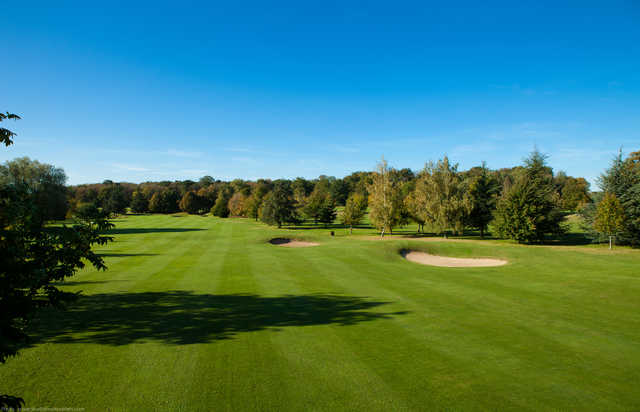 A view of a fairway at Raray Golf Club