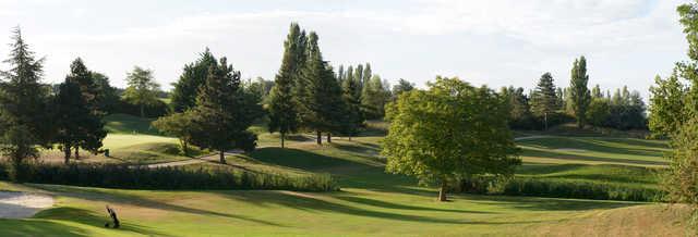A view from Feucherolles Golf Club