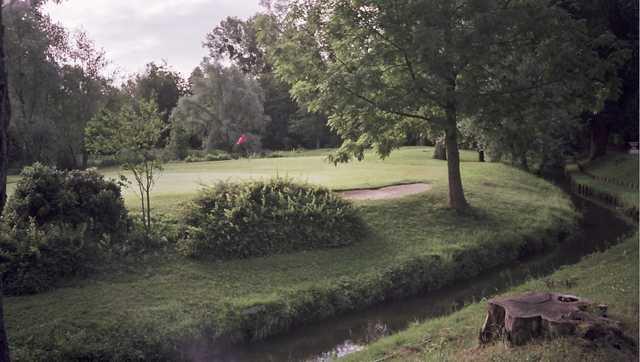 View of a green from Saint Ouen l'Aumone Golf Club