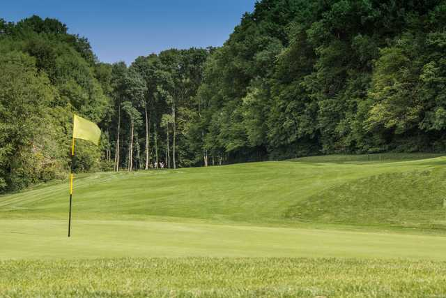 View from a green at Grand Nancy Pulnoy Golf Course