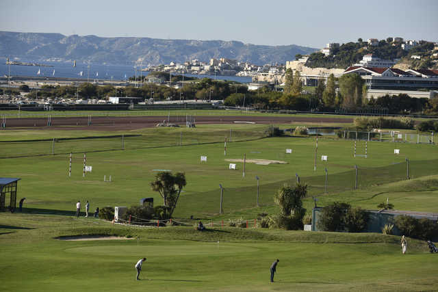 A view from Marseille Borely Golf