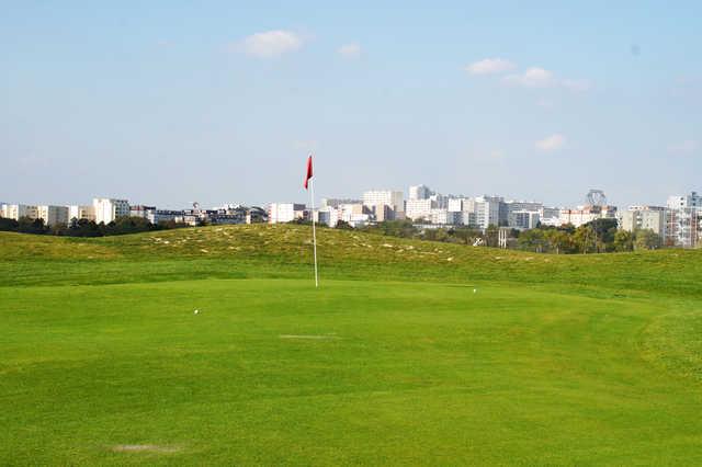 View from a green at Golf de Reims Bezannes