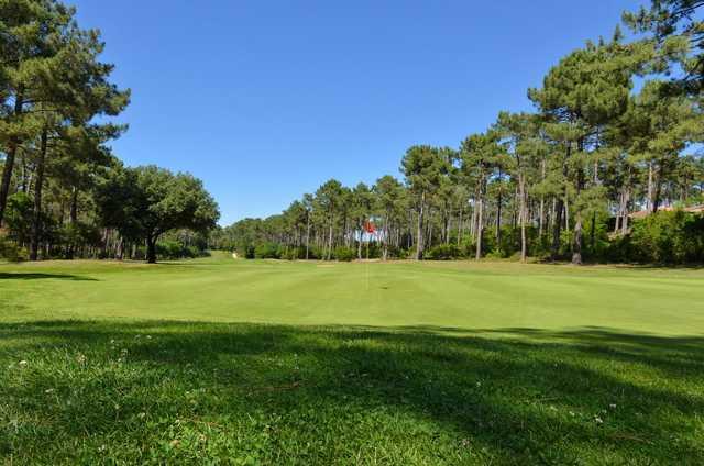 A view of hole #4 at Lacanau International Golf Club.